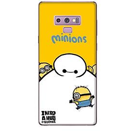 Ốp lưng dành cho điện thoại  SAMSUNG GALAXY NOTE 9 hinh Big Hero Minions