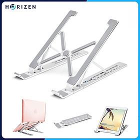 Đế tản nhiệt cho Laptop, Macbook - Giá đỡ, kệ đỡ, phụ kiện cao cấp cho Macbook, Laptop bằng hợp kim nhôm thông minh gấp gọn Horizen Z01