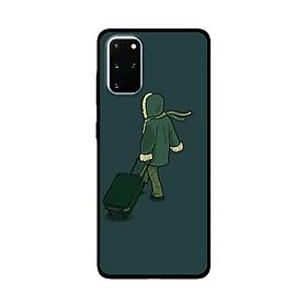 Ốp Lưng Dành Cho Samsung Galaxy S20 Plus mẫu Chàng Xách Vali - Hàng Chính Hãng