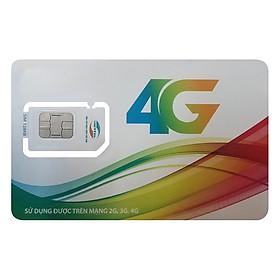 Sim 4G Viettel Trọn Gói 1 Năm Không Nạp Tiền Gói D500 (4GB/THÁNG) - Hàng Chính Hãng