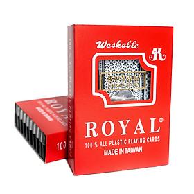 Bài Tây Nhựa Royal 100% Plastic