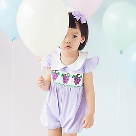 Bộ áo liền quần Grape Romper Chaiko House GR02