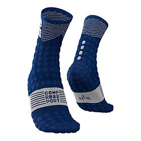 Vớ Dài Siêu Nhẹ Chạy Địa Hình Compressport Pro Racing V3.0 Ultra Trail Socks Utmb 2019