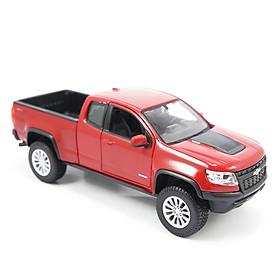 Mô Hình Xe Chevrolet Colorado ZR2 Red 1:24 Maisto MH-31517