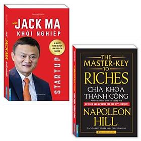 Combo 2 cuốn về kinh tế cực kì hữu ích: Chìa Khóa Thành Công ( Bìa mềm) + Học Jack Ma Khởi Nghiệp ( Sách khởi nghiệp business)