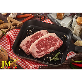 Thăn ngoại bò Mỹ Excel ( Choice striploin ) cắt 2cm - 1kg