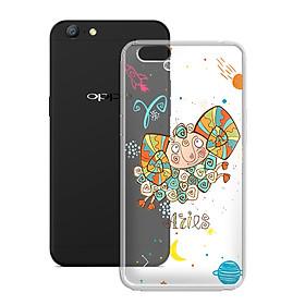Ốp lưng Dẻo cho điện thoại Oppo A71 - 01101 8050 ARIES 01 - In Nổi Họa Tiết - Cung Bạch Dương - Hàng Chính Hãng