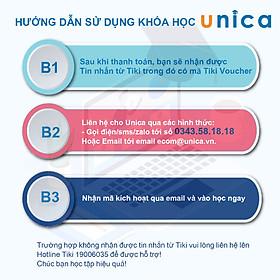 Unica-Combo 6 Khóa Học Marketing Digital: Facebook Marketing+Vũ Khí Ngôn Từ + Ứng Dụng Zalo + Google Adwords + SEO Thực Hành + Chiến Lược Xây Network Marketing