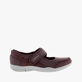 SKECHERS - Giày slip on nữ phối quai ngang Be Lux 23169