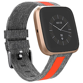 Canvas Watch Strap for Fitbit Versa 2/versa/versa lite
