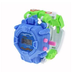 Đồng hồ đeo tay trẻ em 2 trong 1 - Biến hình rô bốt siêu độc đáo - Giao màu ngẫu nhiên