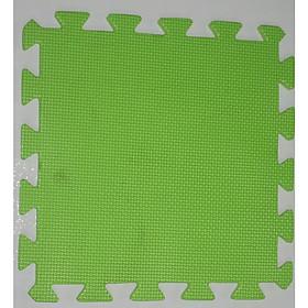 Thảm Xốp Cho Bé Trơn 30cmx30cm màu xanh lá