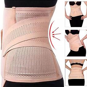 đai nịt bụng định hình vòng eo 2 lớp
