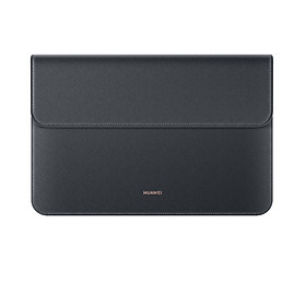 """HUAWEI MatePad Sleeve PU Leather Protective Tablet Bag Pouch Briefcase Suitable for 10"""" to 11"""" Tablets Compatible with - Grey"""
