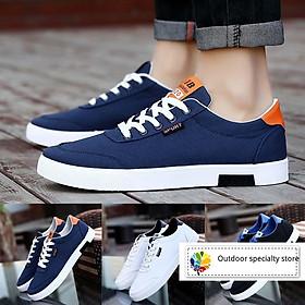 Giày thể thao bằng da phong cách năng động trẻ trung dành cho nam