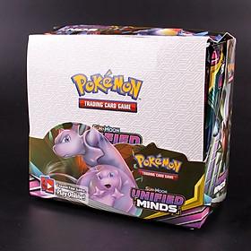 Bộ Thẻ Bài Pokemon 324 Thẻ Trading Card Game Sun&Moon Unified minds TCG Sưu Tập Đẹp Đọc Đáo