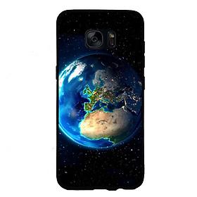 Ốp Lưng Viền TPU Cho Điện Thoại Samsung Galaxy S6 - Earth