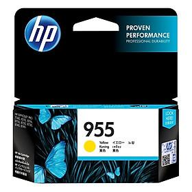 Mực in Phun Màu HP 955 Yellow Original Ink Cartridge Vàng (Máy in HP OfficeJet Pro 8210/8216/8710/8720/8730/8740/8745/7740/7720/7730)_L0S57AA - Hàng Chính hãng