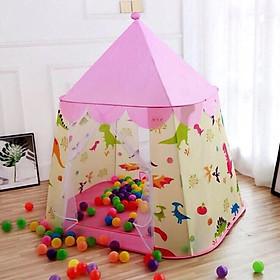 lều công chúa hoàng tử phong cách hàn quốc - tặng kèm 20 quả bóng
