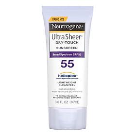 Kem Chống Nắng Neutrogena Ultra Sheer Dry-Touch Sunscreen SPF55 147 ml