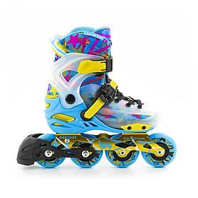 Giày Patin Centosy Kid pro hàng chính hãng cao cấp có thể tháo rời boot để giặt dành cho bé từ 3 tuổi đến 16 tuổi là trò chơi lành mạnh giúp bé tăng cường sức khoẻ tốt hơn