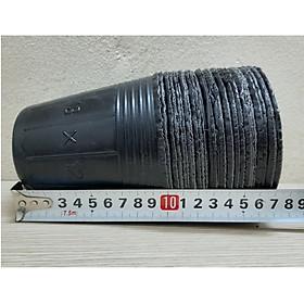 5Kg Chậu nhựa mềm ươm cây 13x12 - bịch, túi bầu ươm cây 13x12; đường kính miệng x cao: 10.5x10cm