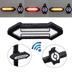 Đèn Xi Nhan Xe Đạp VASTFIRE 0173 | Điều Khiển Từ Xa Không Dây, Thiết Kế Nhỏ Gọn, Sạc Pin USB | Thời Gian Sáng Liên Tục Tối Đa 4 Giờ  | Đèn Chống Nước Mưa | Dễ Dàng Lắp Đặt | Dung Lượng Pin 800mah