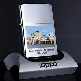 Bật Lửa Zippo 2001 - Bến Thành Market - Sai Gon