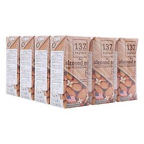 Combo 4 Lốc  Sữa Hạt Hạnh Nhân Nguyên Chất 137 Degrees