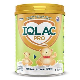 Sản Phẩm Dinh Dưỡng Sữa Bột IQLac Pro Biếng ăn - Suy Dinh Dưỡng (900g)