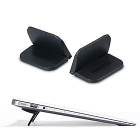 Giá đỡ tản nhiệt mini siêu nhỏ gọn cho Macbook / laptophiệu Remax X2(thiết kế chắn chắn, nhỏ gọn tiện dụng) - Hàng nhập khẩu