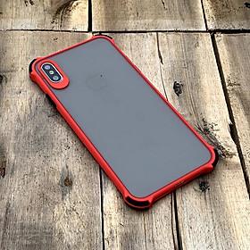 Ốp lưng chống sốc toàn phần dành cho iPhone X / XS - Màu đỏ