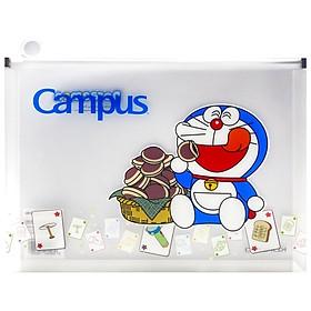 Túi Đựng Tài Liệu Campus Doraemon - Màu Xanh