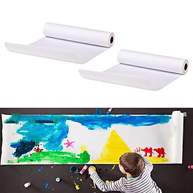 2Set Easel Paper Roll Kids Sketching Arts & Crafts Supplies Gift Wrapping