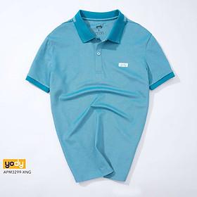 Áo Phông Polo Nam YODY Phối Bo Trẻ Trung Chất Liệu Pique Mắt Chim Thoáng Mát - APM3299
