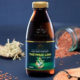 TPBVSK Nước uống thảo dược Thổ Phục Linh (Hộp 8 chai)