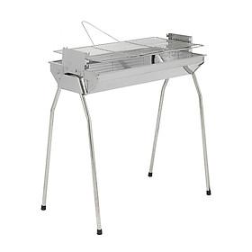 Bếp nướng than hoa  VCL thay đổi chiều cao vỉ, Inox không gỉ sét, chống cháy thực phẩm, an toàn sức khỏe, không cần quạt, bếp nướng không khói, bếp nướng ngoài trời, lò nướng