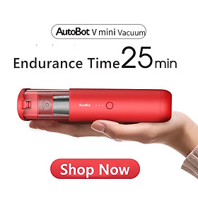 AutoBot V MINI Handheld Vacuum Cordless, Portable USB Rechargeable Vacuum Cleaner For Home Car Pet Hair Cleaning, 60W, 4200 Pa