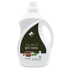 Nước giặt xả hữu cơ Bồ Hòn Ecocare tinh dầu Hoa Bưởi  4000ml