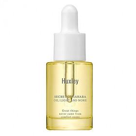 Tinh Chất Dưỡng Ẩm, Làm Sáng, Chống Lão Hóa Huxley Oil; Light And More 5ml (Mini Size)