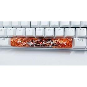 Keycap artisan cá koi spacebar 6.25u trang trí bàn phím cơ.