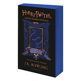 Harry Potter And The Chamber Of Secrets – Ravenclaw Edition (Paperback) + Quà Tặng