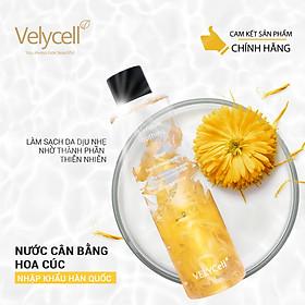 Nước cân bằng da Hoa Cúc Velycell Calendula Soothing Toner 200ml