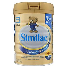 Combo 3 Lon Sữa Bột Similac 3 (900g)