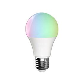 Bóng Đèn LED RGB+W Thông Minh Điều Khiển Độ Tối Từ Xa Bằng Wifi Điện Thoại Tương Thích Alexa V5 E27 (11W)