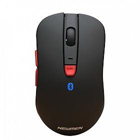 Chuột không dây Newmen Bluetooth 4.1 và 2.4 GHz thế hệ 2 D358 - Hàng Chính Hãng