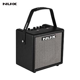 NUX Mighty 8 BT Portable 8 Watt Electric Guitar Amplifier Cube-shape Amplifier Built-in 6.5 Inch Speaker with Guitar