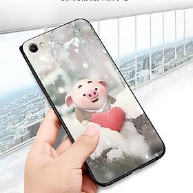 Ốp điện thoại dành cho máy Oppo F3 Plus - Trái tim của lợn con MS FUNN0026
