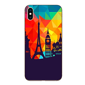 Ốp lưng dẻo cho Iphone XS Max - Travelling