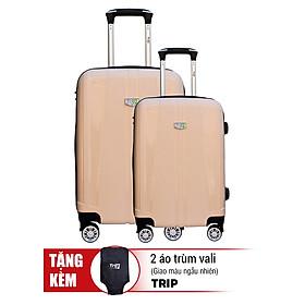 Bộ 2 Vali TRIP Nhựa Dẻo PP103 20